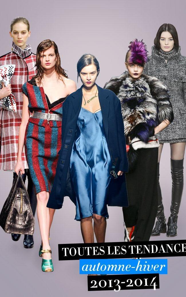 La robe est de saison pour l'automne hiver 2013-2014